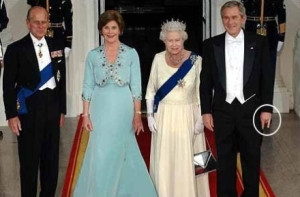 Bush With the Royals